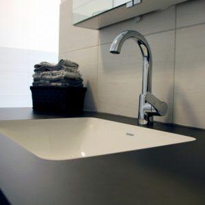 Ein modernes Waschbecken in Hagen